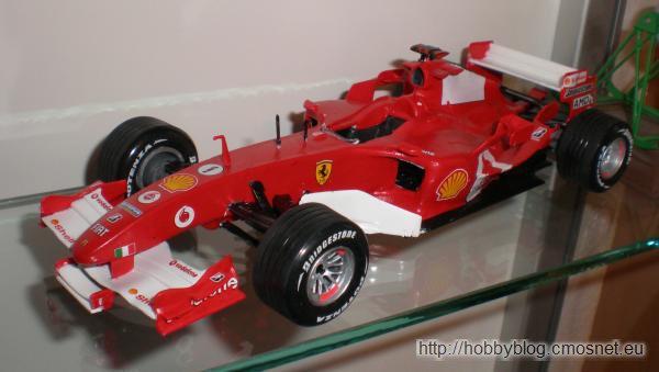 Ferrari F2005, Revell 07244, skala 1:24