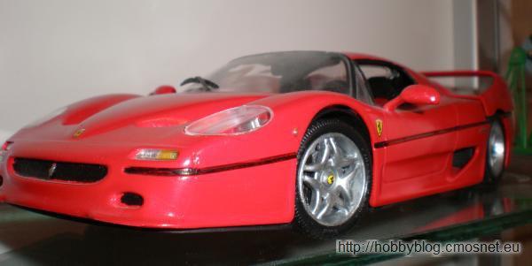 Ferrari F-50 Barchetta, Revell 07376, skala 1:24
