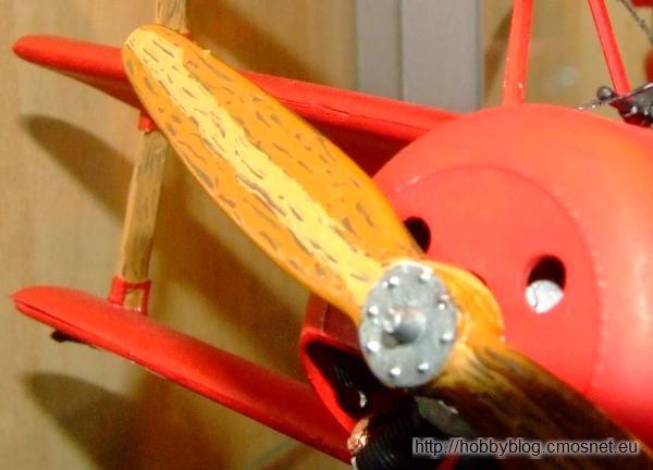 "Fokker Dr.I ""Manfred von Richthofen"", Revell 04744, 1:28"