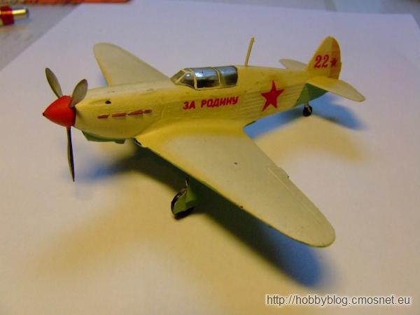 Jak-1, ZTS Plastyk, skala 1:72
