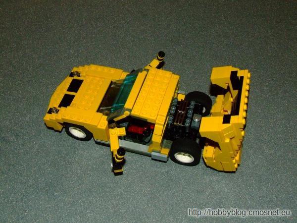Lamborghini Miura z LEGO