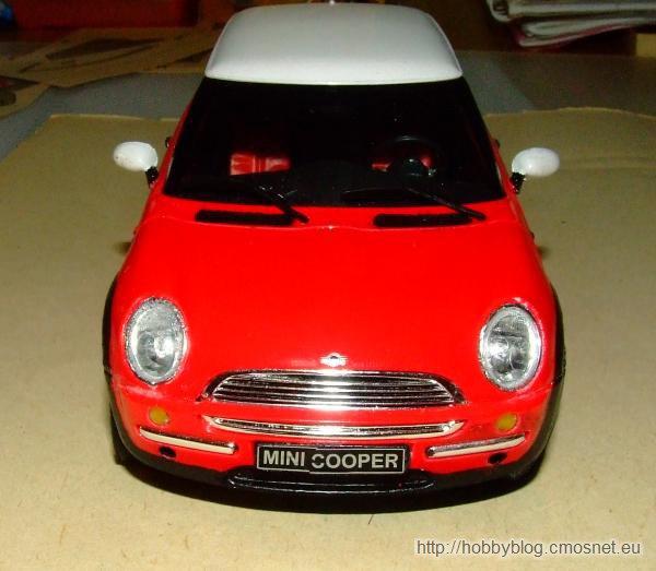 Mini Cooper, Revell 07166, 1:24