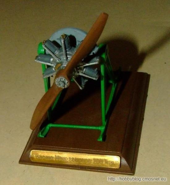 Silnik Gnome Monosoupape 9B, Roden Ro621, 1:32
