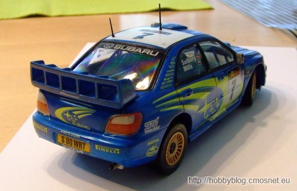 Subaru Impreza WRC'03, Heller 80750, skala 1:24