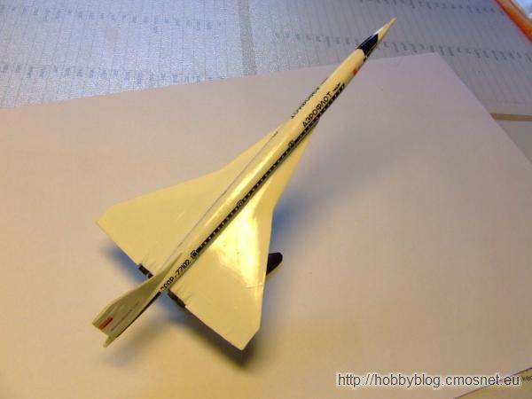 Tu-144, Academy 1699, skala1:360