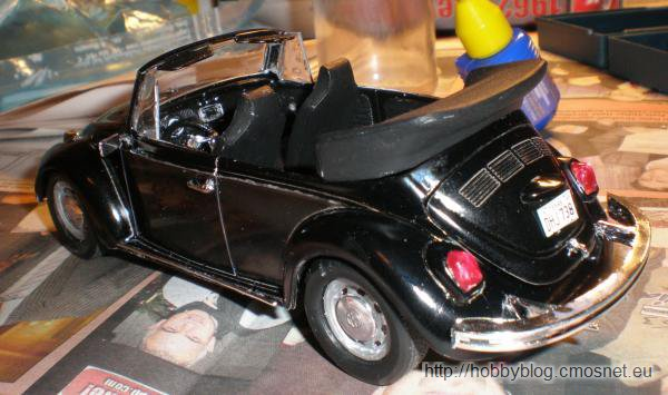 VW Beetle Convertible, Revell (USA) 85-2579, 1:25