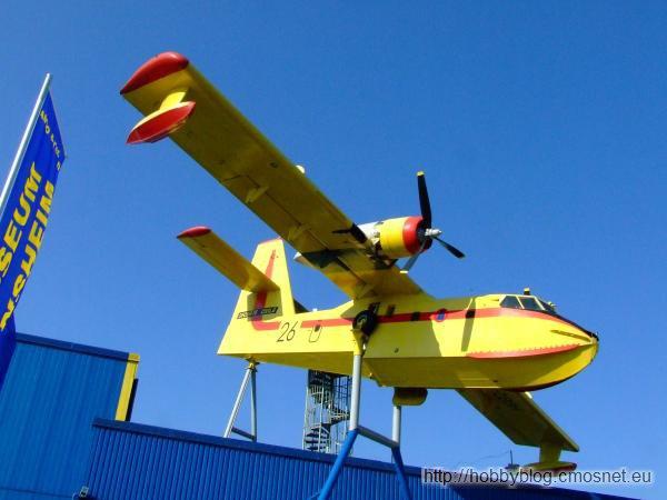 Canadair CL-215 w muzeum w Sinsheimie