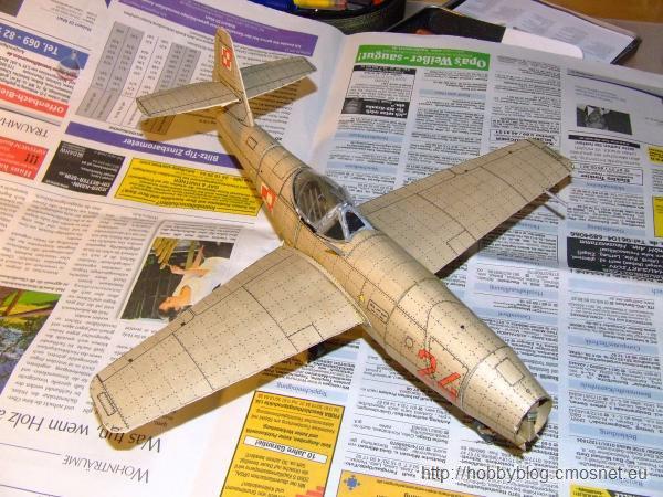 Jak-23, Mały Modelarz 6/1982