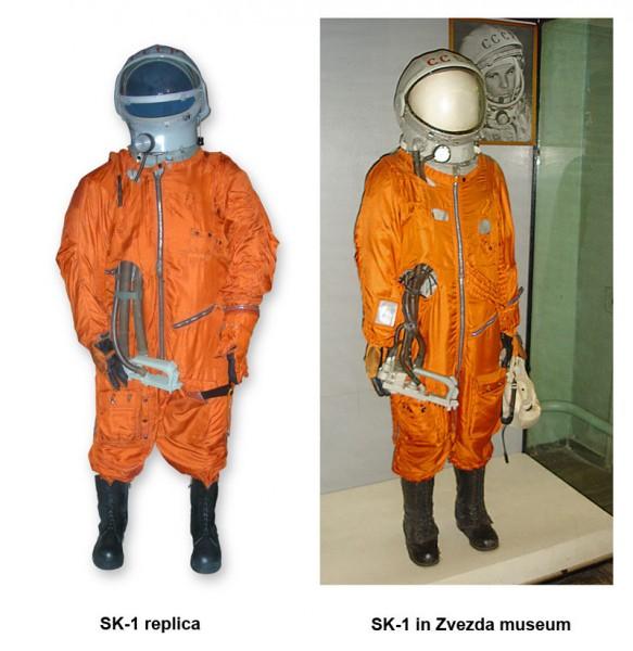 Skafander Gagarina replika i oryginał