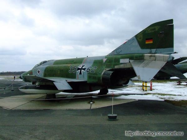 Militärhistorisches Museum Flugplatz Berlin-Gatow - F4 Phantom