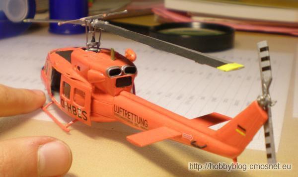 Bell AB 212/UH-1N, Revell 04654, 1:72