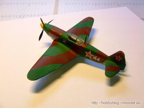 Jak-1M, ZTS Plastyk, skala 1:72