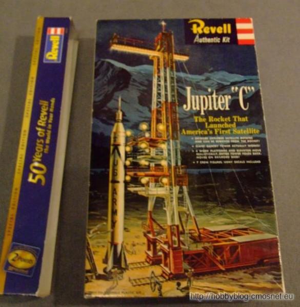Jupiter C, Revell (USA) H1819, 1:110