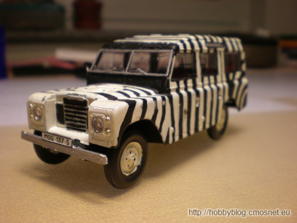 Land Rover Series III, Heller 80151, 1:43