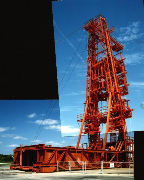 Wieża serwisowa rakiet Redstone