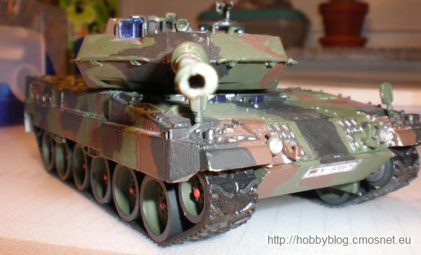 Leopard 2A5, set produkcji chińskiej, skala 1:48