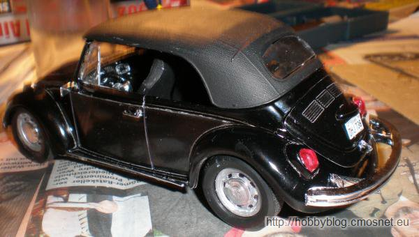 VW Beetle Convertible, Revell (USA) 85-2579, 1:25