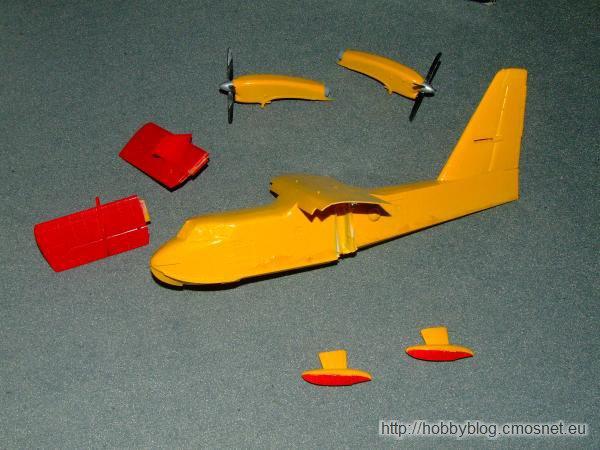 Canadair CL-415, Heller 71271, 1:72