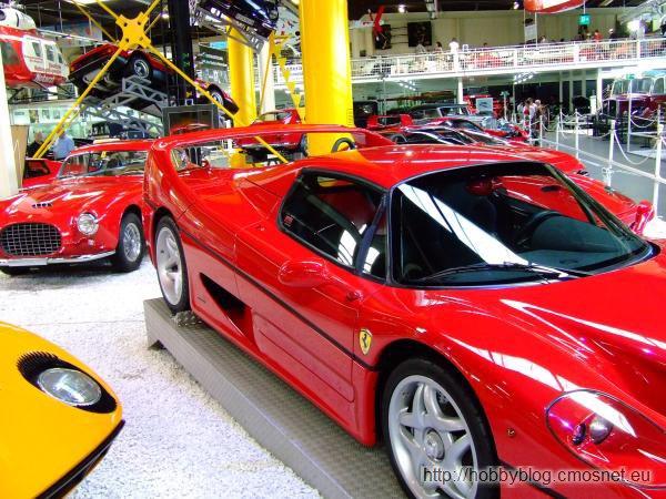 Ferrari F50 w muzeum w Sinsheimie