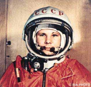 Jurij Gagarin Źródło: Gdzieś z sieci